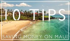 Living on Maui ain't cheap. But visiting Maui is even more expensive. Still, we locals know a thing or two about saving money on Maui. Here are 10 money-saving tips for you to get the most out of your visit to Maui. Maui Food, Ocean Projects, Hawaii Ocean, Pacific Blue, Whale Watching, Lanai, Beach Fun, Hawaii Travel, Money Saving Tips