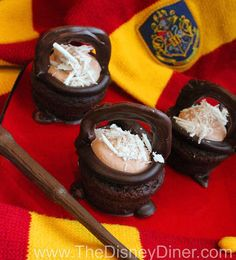 The Disney Diner: Cauldron Cakes Recipe from The Wizarding World of Harry Potter at Universal Studios