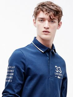 Otto Lotz for Lacoste.