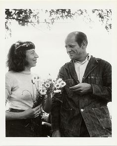 Jackson Pollock and Lee Krasner (his wife and also a painter)    Dec 29, 2011   •   214 no