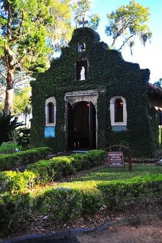 Shrine of Our Lady of La Leche in St. Augustine, Florida, on the site of the first Mass in Florida