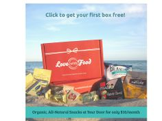 Click to get your first Love With Food tasting box free!