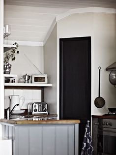 Modern Country Style: House Tour: Belgian Style Country Escape Click through for details. Belgian style kitchen!