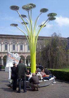 Milan Furniture Fair 2008, Greenergy Design, Philippe Starck, Interni, Sunplant, Mario Bellini, Nautoscopio, Ofigea, Jacopo Foggini, Arik Levy, Giant Rock, Cate Trotter