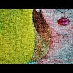 #diegorodry #art #illustration #canvas #aquarelle #acrylic #color Photo And Video, Canvas, Illustration, Painting, Color, Instagram, Art, Tela, Art Background