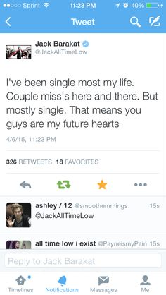 Jack Barakat is a sweetheart