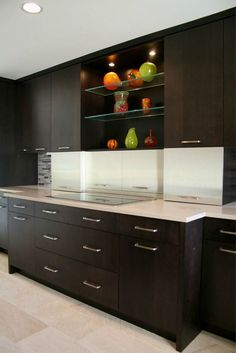 Laminate Lansdale doors with Aluminum Stainless Formica by Crystal Cabinet Works. Visit your nearest Ring's End for more information on Crystal Cabinet Works. #CrystalCabinets #Kitchen #Cabinets