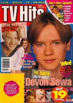 And TV Hits magazine looked a little like this: | This Is What Australia Looked Like 20 Years Ago