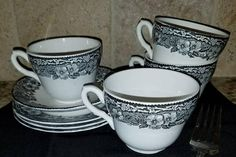Check out this item in my Etsy shop https://www.etsy.com/listing/564174477/vintage-malverne-patterned-set-of-4