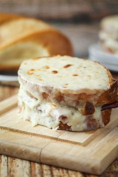 The Perfect Croque-Monsieur (Toasted Ham  Cheese Sandwich)