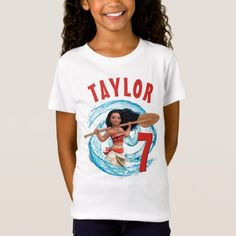 Moana | Ocean Birthday T-Shirt - tap to personalize and get yours