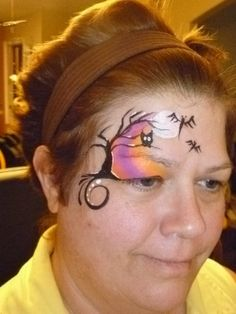 one stroke face painting designs - Buscar con Google