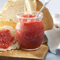 Rhubarb Marmalade Recipe @keyingredient #muffins
