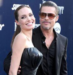 """Pin for Later: Alle Stars, die sich 2014 getraut haben Brad Pitt und Angelina Jolie Brad und Angelina sagten im August """"JA"""" zueinander."""