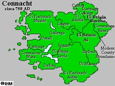 Ireland's History in Maps - Ancient Connacht Kings
