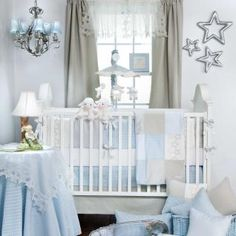 Twinkle Twinkle Baby Crib Bedding by Glenna Jean - Baby Crib Bedding - 10840