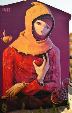 INTI New Mural In Istanbul, Turkey StreetArtNews