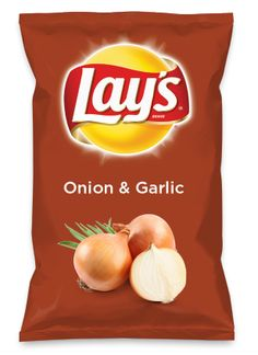 Wouldn't Onion & Garlic be yummy as a chip? Lay's Do Us A Flavor is back, and the search is on for the yummiest chip idea. Create one using your favorite flavors from around the country and you could win $1 million! https://www.dousaflavor.com See Rules.