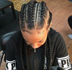 Zipper braids