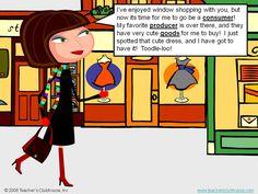 Animated Producers & Consumers PowerPoint by Teacher's Clubhouse - http://www.teachersclubhouse.com/socialstudies.htm#economics