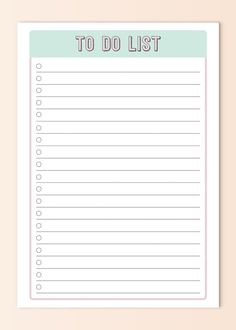 Printable To Do List // Instant di AnInquisitiveGraphic To Do Planner, Daily Planner Pages, Study Planner, School Planner, Bullet Journal Writing, Bullet Journal Ideas Pages, To Do Lists Printable, Printable Planner, Weekly Planner Template