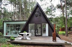 Tiny House oooh tiny awesome A Frame!