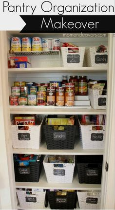 You will love these 20 incredible small pantry organization ideas and makeovers - chock full of helpful tips and beautiful inspiration so you can organize your small pantry today. #kitchendecor #kitchenorganization