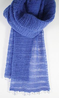 Free Pattern: Simple Lace Scarf by Frankie Brown