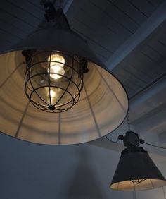 Awesome industrial lamps. | deTurf