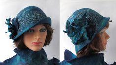 Farb-und Stilberatung mit www.farben-reich.com - Felted hat ♡