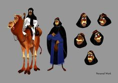 Juliaon Roels - Character Design Page