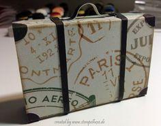 Anleitung koffer stampin stempelhexe papier