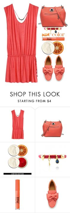 """""""Summer time"""" by simona-altobelli ❤ liked on Polyvore featuring SteamCream, Too Faced Cosmetics and BUSCEMI"""