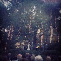 Wedding Ceremony - Calamigos Ranch Cottage Pavilion