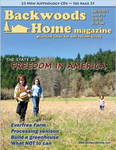 Haven't picked up a copy in a loong while. Would love to get their article-laden cd. Lot's of good information and always enjoy hearing stories from people actively homesteading! :0)