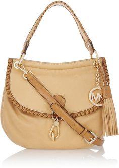 MICHAEL Michael Kors   Bennet leather shoulder bag.  love.