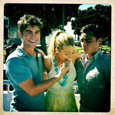Chace Crawford, Blake Lively, Ed Westwick