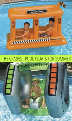 The Craziest Pool Floats For Summer so love these have to find some for out visit to a water land next week yay
