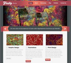 Firsty Theme is a powerful WordPress theme. It includes all the main functionality you will need to present your work and yourself in an professional style. The Firsty theme is best suited for any blog, portfolio, photography and personal sites.