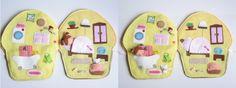 Óriás muffin játszókönyvecske-hasonló rendelhető!, Baba-mama-gyerek, Játék, Baba, babaház, Készségfejlesztő játék, Meska