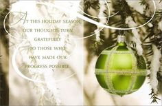 Christmas Business Appreciation Card