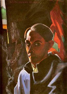 Stanisław Ignacy Witkiewicz - Autoportret, 1924