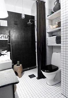 relooker salle de bain avec carrelage blanc joints noir pinterest black grout white tiles and grout