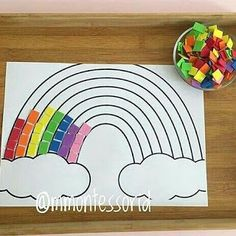 Coordenação motora - So Tutorial and Ideas Kids Crafts, Spring Crafts For Kids, Toddler Crafts, Preschool Crafts, Art For Kids, Preschool Learning Activities, Infant Activities, Preschool Activities, Kids Learning