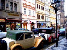 Beautiful, romantic, vintage Prague! <3 <3 <3 (photo taken around Christmas time)