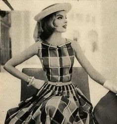 11 Ways to Look Forward to a City Summer Editorial from Glamour Magazine, April 1956