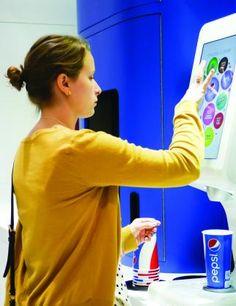 Sneak Peek: Check Out Pepsi's Drink-Customization Machine  Pepsi Spire