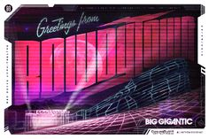 Big Gigantic : Rowdytown  Red Rocks Amphitheater   September 29, 2012  Art by Anthem Branding $20