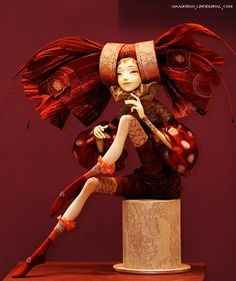 I just like the lines of this character! I think it would be cool in a stop motion animation. Character Art, Character Design, Enchanted Doll, Marionette, 3d Fantasy, Paperclay, Little Doll, Stop Motion, Ooak Dolls