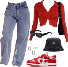 Teen Fashion Outfits, Mode Outfits, Retro Outfits, Girl Outfits, Cute Swag Outfits, Cute Comfy Outfits, Stylish Outfits, Looks Street Style, Aesthetic Clothes
